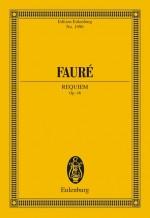 Requiem op. 48 (study score)