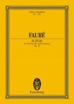 Elégie op. 24 (study score)