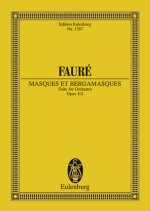 Masques et Bergamasques op. 112 (study score)