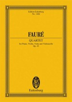 Piano Quartet No. 2 op. 45 (study score)