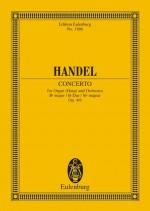 Organ concerto No. 6 B major