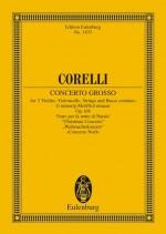 Concerto grosso G minor op. 6/8 (study score)