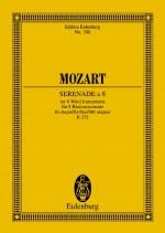 Serenade a 8 E flat major KV 375 (study score)