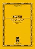 The Magic Flute KV 620  overture & (study score)