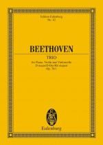 Piano Trio No. 5 D major op. 70/1 (study score)