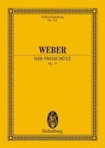 Der Freischütz op. 77 JV 277 (study score)