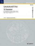 Twelve Sonatas Book 1