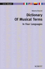 Dictionary of Musical Terms in Four Languages