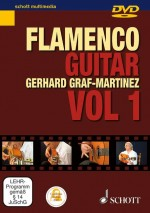 Flamenco Guitar Method Book 1 DVD