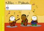 Elementary music book 4 staves