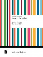 PACHELBEL TWO FUGUES Des Tre Ten Rec