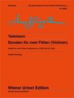 6 Sonatas for 2 flutes (or violins) op. 2 TWV 40:101-106