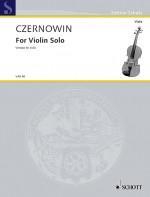 For Violin Solo