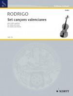 Set cançons valencianes