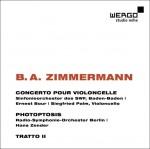 Concerto pour violoncelle / Photoptosis / Tratto II