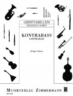 Fingering Chart for Contrabass