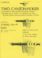 Two Canzonas