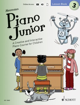 Piano Junior Lesson Book 3