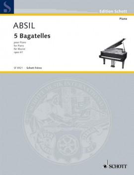 5 Bagatelles op. 61