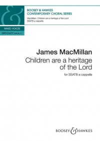 Children are a heritage of the Lord