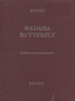 Madama Butterfly (Italian Vocal Score) - Hardcover