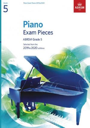ABRSM Piano Exam Pieces Grade 5 2019 & 2020