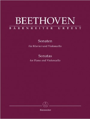 Complete Sonatas for Violoncello and Piano. (Op.5 Nos.1 and 2, Op.69, Op.102 Nos 1 and 2) (Urtext).