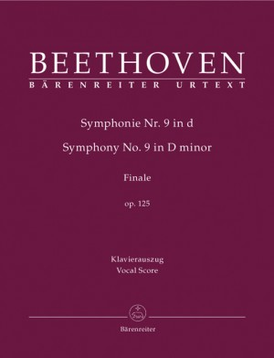 Symphony No.9 in D minor, Op.125 (Choral) (Urtext).
