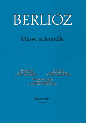 Messe solennelle (L) (Urtext) (first edition).