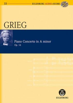Concerto A minor op. 16 (study score)