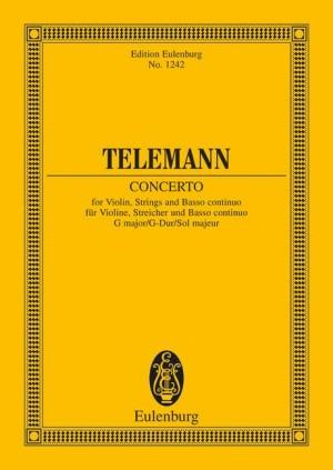 Concerto G Major (study score)