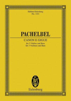 Canon e Gigue (study score)