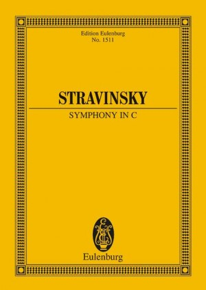 Symphony in C (study score)