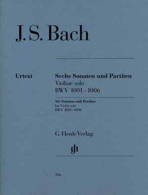 Sonatas and Partitas for Violin solo BWV 1001-1006
