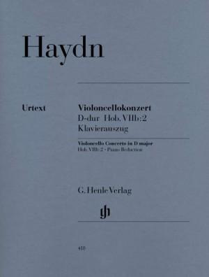 Concerto for Violoncello and Orchestra D major Hob. VIIb:2