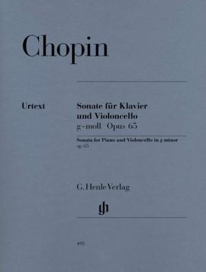 Sonata for Violoncello and Piano G minor op. 65