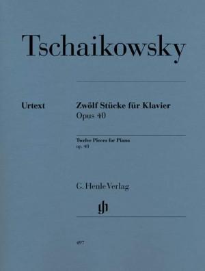 Twelve Piano Pieces op. 40