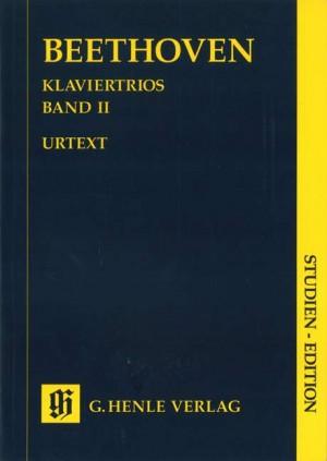 Piano Trios Book 2 (study score)