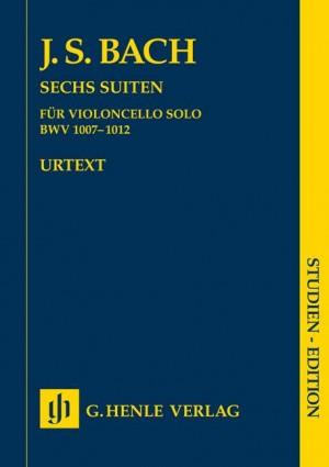 Six Suites for Violoncello solo BWV 1007-1012 (study score)