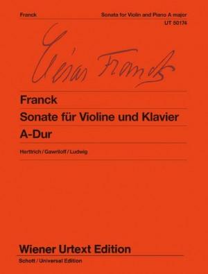 Sonata for Violin and Piano A major