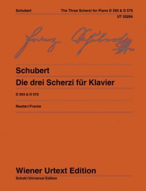 The three Scherzi for piano