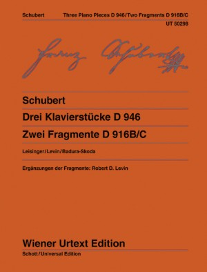 Three Piano Pieces D 946 and Two Fragmentary Piano Pieces D916/C