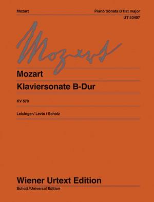 Piano Sonata in B flat major