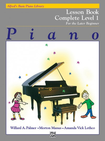 Alfred's Basic Piano Lesson Book, Level 1 (Complete)