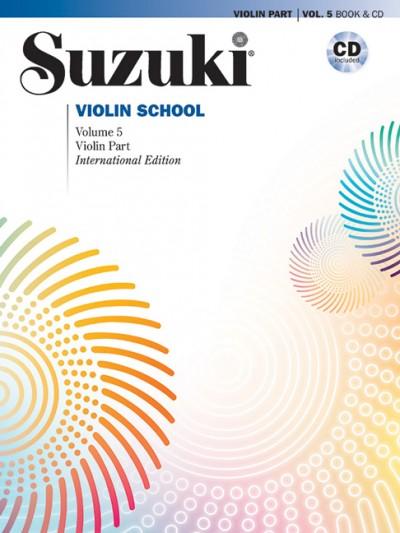 Suzuki Violin School 5 + CD (Revised)