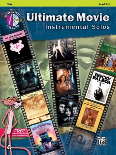 Ultimate Movie Instrumental Solos- Flute (+CD)