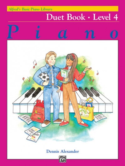 Alfred Basic Piano Duet Book 4