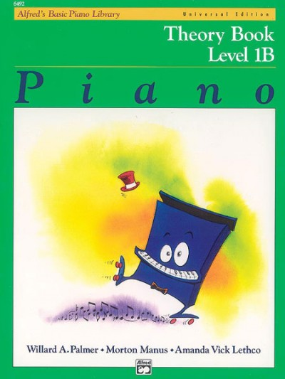 Alfred's Basic Piano Theory Book - Level 1b