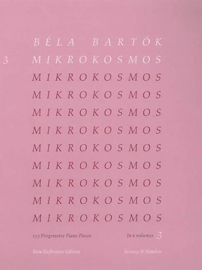 Mikrokosmos Vol. 3 Eng-Fr-Ger-Hun