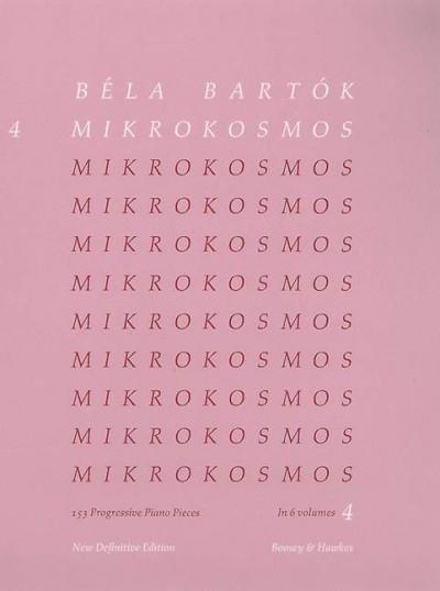 Mikrokosmos Vol. 4 Eng-Fr-Ger-Hun